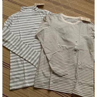 ムジルシリョウヒン(MUJI (無印良品))の無印良品 ロングTシャツ セット(Tシャツ(長袖/七分))