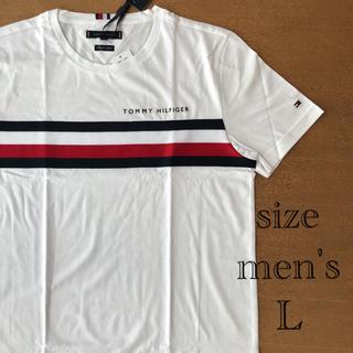 トミーヒルフィガー(TOMMY HILFIGER)の【新品未使用】トミーフィルフィガー メンズ Tシャツ L(Tシャツ/カットソー(半袖/袖なし))