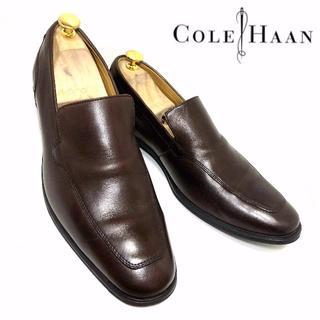 コールハーン(Cole Haan)のCOLEHAAN コールハーン 9(27cm相当)ヴァンプローファー 濃茶(ドレス/ビジネス)