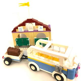 Lego - FRIENDSレゴ キャンピングカー・シャワールームセット