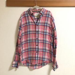 アバクロンビーアンドフィッチ(Abercrombie&Fitch)のAbercrombie & Fitch アバクロ チェックシャツ(シャツ)
