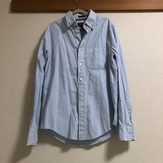 アバクロンビーアンドフィッチ(Abercrombie&Fitch)のAbercrombie & Fitch アバクロ ストライプシャツ(シャツ)