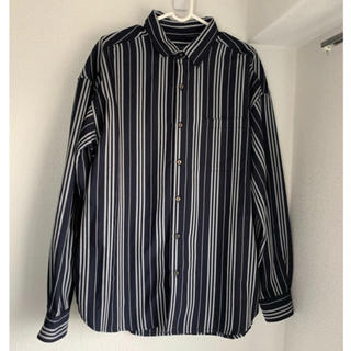 レイジブルー(RAGEBLUE)のRAGEBLUE  (レイジブルー)  ストライプシャツ Lサイズ(シャツ)