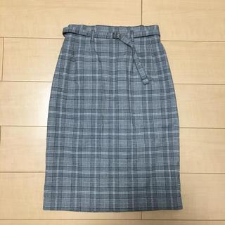 ココディール(COCO DEAL)のココディール チェック タイトスカート(ロングスカート)