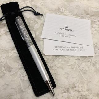 SWAROVSKI - スワロフスキー ボールペン ホワイト