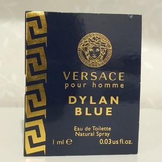 ヴェルサーチ(VERSACE)の1ml VERSACE ヴェルサーチDYLAN BLUE 1ML(香水(男性用))