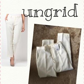 アングリッド(Ungrid)の【新品タグつき】ungrid☆ストライプパンツ(カジュアルパンツ)