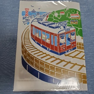ファミリア(familiar)のファミリア×阪急電車コラボ A4クリアファイル(ノート/メモ帳/ふせん)