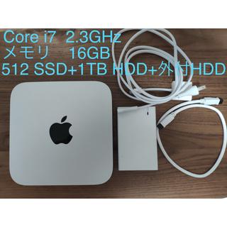 Mac (Apple) - Mac  mini  server 2012 MD389J/A SSD +HDD