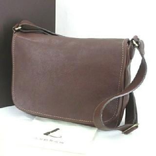 土屋鞄製造所 - 【美品】土屋鞄製造所 メッセンジャーバッグ ブラウン