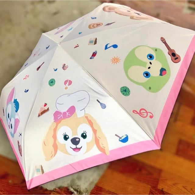 新作 ダッフィー晴雨両用折り畳み傘 レディースのファッション小物(傘)の商品写真