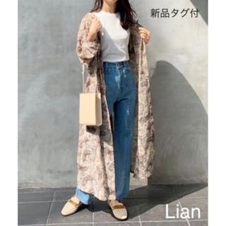 新品タグ付★『Lian』ロングガウンワンピース★定価¥5940(ロングワンピース/マキシワンピース)