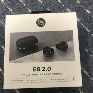 B&O Beoplay E8 2.0 (Black) ワイヤレスイヤホン(ヘッドフォン/イヤフォン)