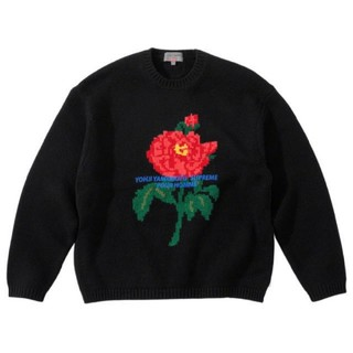Supreme - supreme sweater black L