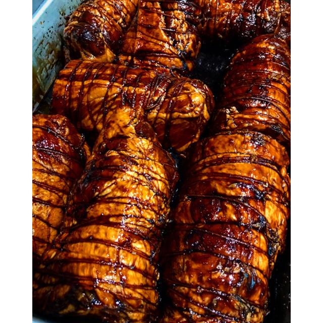 佐藤さん専用 豚バラ肉のバルサミコチャーシュー 110g 食品/飲料/酒の加工食品(その他)の商品写真