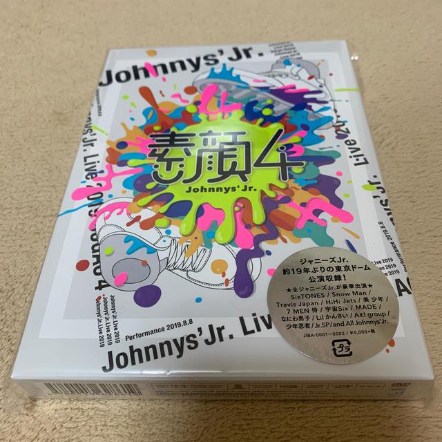 ジャニーズJr.(ジャニーズジュニア)の素顔4 ジャニーズJr.盤 DVD エンタメ/ホビーのDVD/ブルーレイ(ミュージック)の商品写真