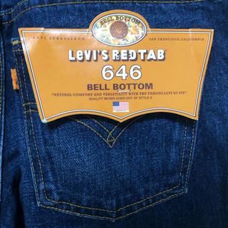 Levi's - 希少USA製新品未使用デッドストック 646 リーバイスW32L33