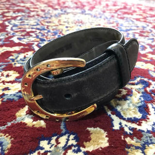 ジルサンダー(Jil Sander)のarchive JILSANDER gold buckle belt(ベルト)