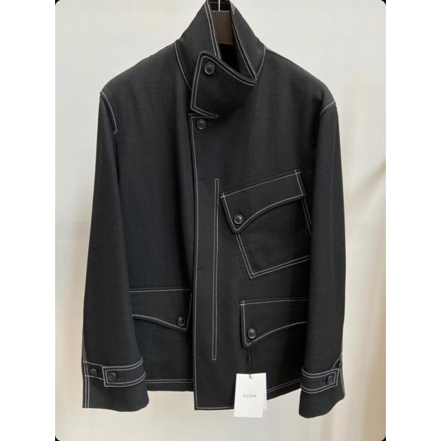 HYKE(ハイク)のUJOH / Flap Collar Blouson 20AW メンズのジャケット/アウター(ブルゾン)の商品写真