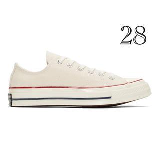 CONVERSE - 【新品】Converse CT70 チャックテイラー オフホワイト 28