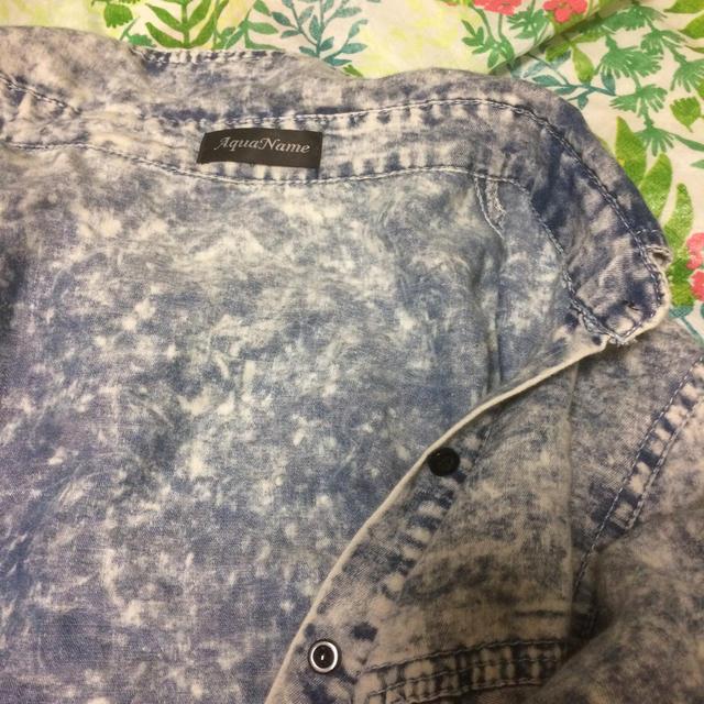 AquaName(アクアネーム)のシャツ。 レディースのトップス(シャツ/ブラウス(長袖/七分))の商品写真