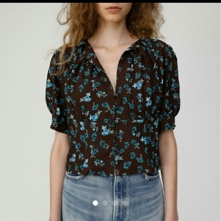 moussy - moussy DITSY FLORAL ブラウス