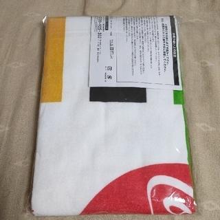 コカコーラ(コカ・コーラ)の【 コカコーラ】オリンピック東京2020バスタオル(タオル/バス用品)