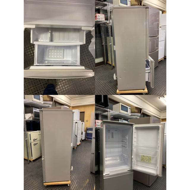 SHARP(シャープ)のSJ-D17D-S  SHARP 2ドア冷蔵庫 美品 2018年製 スマホ/家電/カメラの生活家電(冷蔵庫)の商品写真