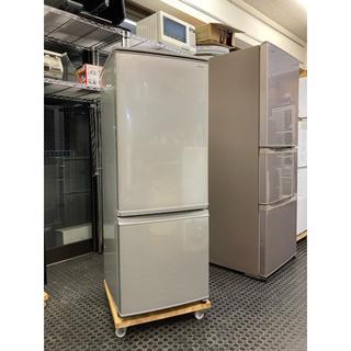 SHARP - SJ-D17D-S  SHARP 2ドア冷蔵庫 美品 2018年製