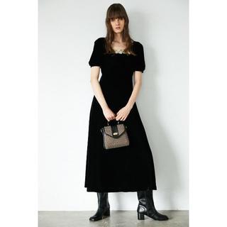 moussy - MOUSSY  VELVET ロングドレス