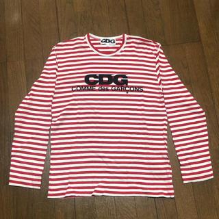 コムデギャルソン(COMME des GARCONS)のCDG COMME des GARCONS ボーダー カットソー(Tシャツ/カットソー(七分/長袖))