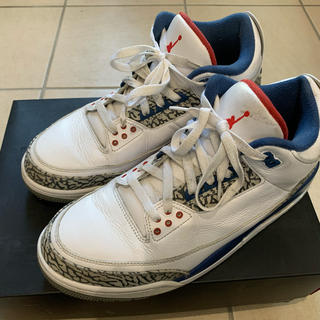 NIKE - AIR JORDAN3 TRUE BLUE 28.5 ジョーダン3