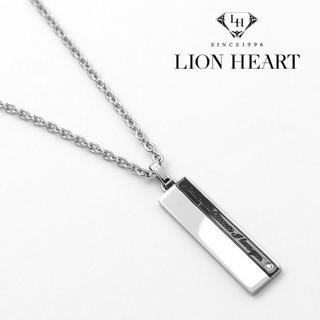 LION HEART - ライオンハート プレート ネックレス メンズ ペンダント 男性
