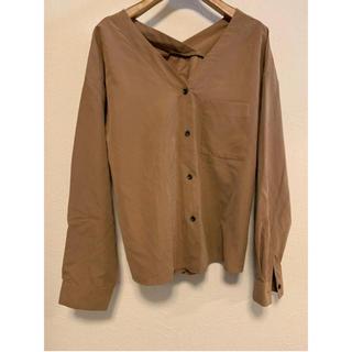 レプシィム(LEPSIM)のLEPSIM スエードシャツ(シャツ/ブラウス(長袖/七分))