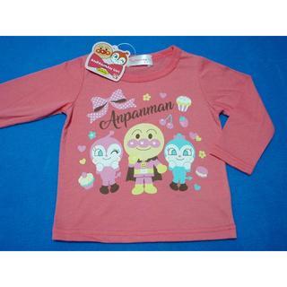 アンパンマン - 新品 90cm アンパンマン ケーキとアンパンマン長袖Tシャツ ピンク