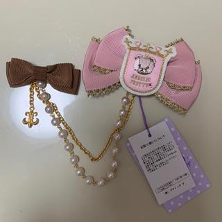 Angelic Pretty - 今井キラ コラボ シャルロットベアー ブローチ ピンク