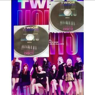 ウェストトゥワイス(Waste(twice))のTWICE★LIGHTS 2枚組2019年 高画質(アイドル)
