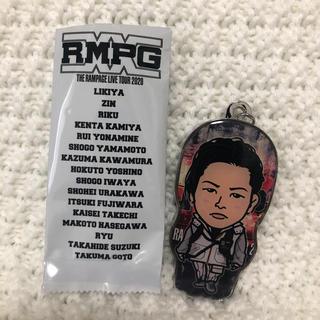ザランページ(THE RAMPAGE)のキャラキーホルダー  山本彰吾(男性タレント)