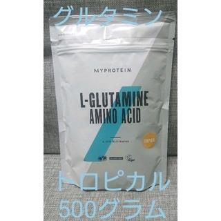 マイプロテイン(MYPROTEIN)のマイプロテイン グルタミン 500グラム トロピカル(トレーニング用品)