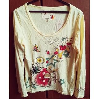 スカラー(ScoLar)のScoLar スカラー PAVONINE ロングTシャツ(Tシャツ(長袖/七分))
