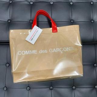 COMME des GARCONS - CDG GIRL PVC トートバッグ 渋谷パルコ限定 ギャルソン レッド