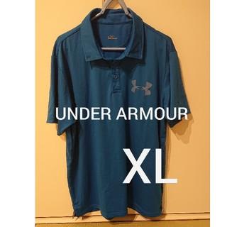 アンダーアーマー(UNDER ARMOUR)のUNDER ARMOUR ポロシャツ XL(ポロシャツ)