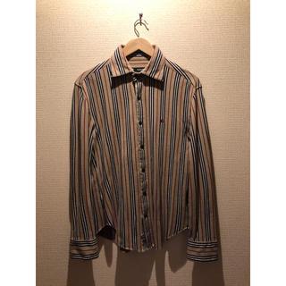 バーバリーブラックレーベル(BURBERRY BLACK LABEL)のBurberry Black label 長袖コットンシャツ(シャツ)
