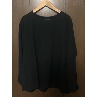 ヨウジヤマモト(Yohji Yamamoto)のBishool wool gabardine pullover(Tシャツ/カットソー(七分/長袖))
