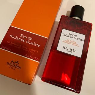 Hermes - 未使用 オードゥ ルバーブ エカルラット ヘア&ボディシャワージェル