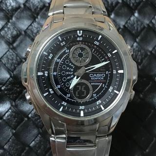 カシオ(CASIO)の【限定セール】CASIO(カシオ) EDIFICE 海外モデル 反転液晶 稼働中(腕時計(デジタル))
