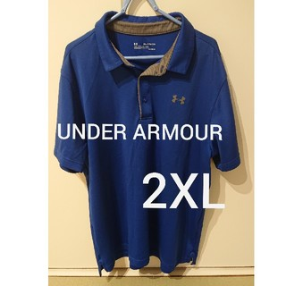 アンダーアーマー(UNDER ARMOUR)のUNDER ARMOUR ポロシャツ メンズ 2XL(ポロシャツ)