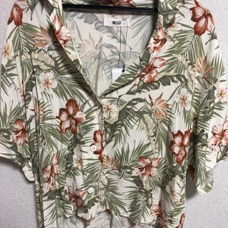 ウィゴー(WEGO)のWEGO ワイドルーズアロハシャツ(シャツ/ブラウス(半袖/袖なし))