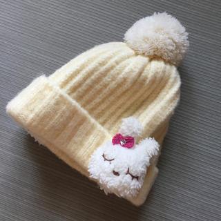 ニットプランナー(KP)の美品❤️KP うさちゃんニット帽(帽子)