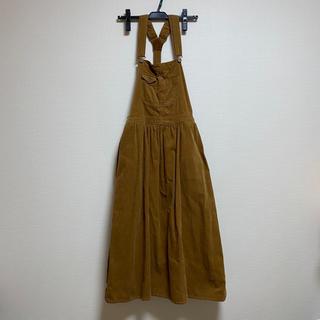 w closet - w closet コーディロイ ジャンパースカート